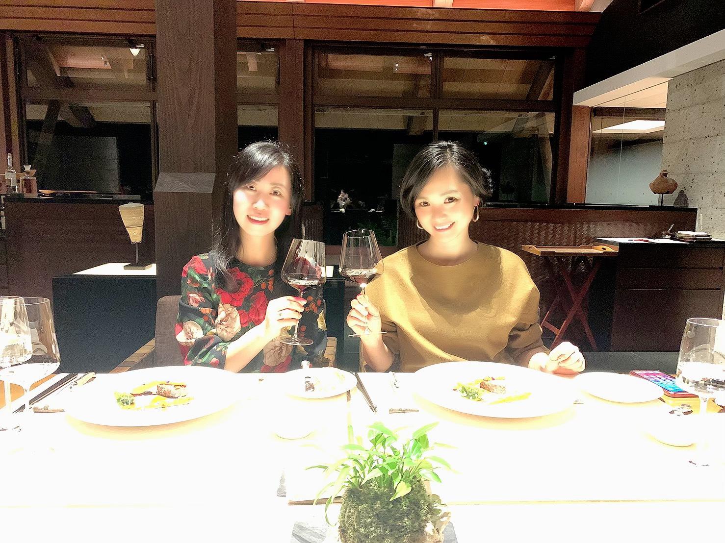屋久島サンカラホテルでディナー2020-12